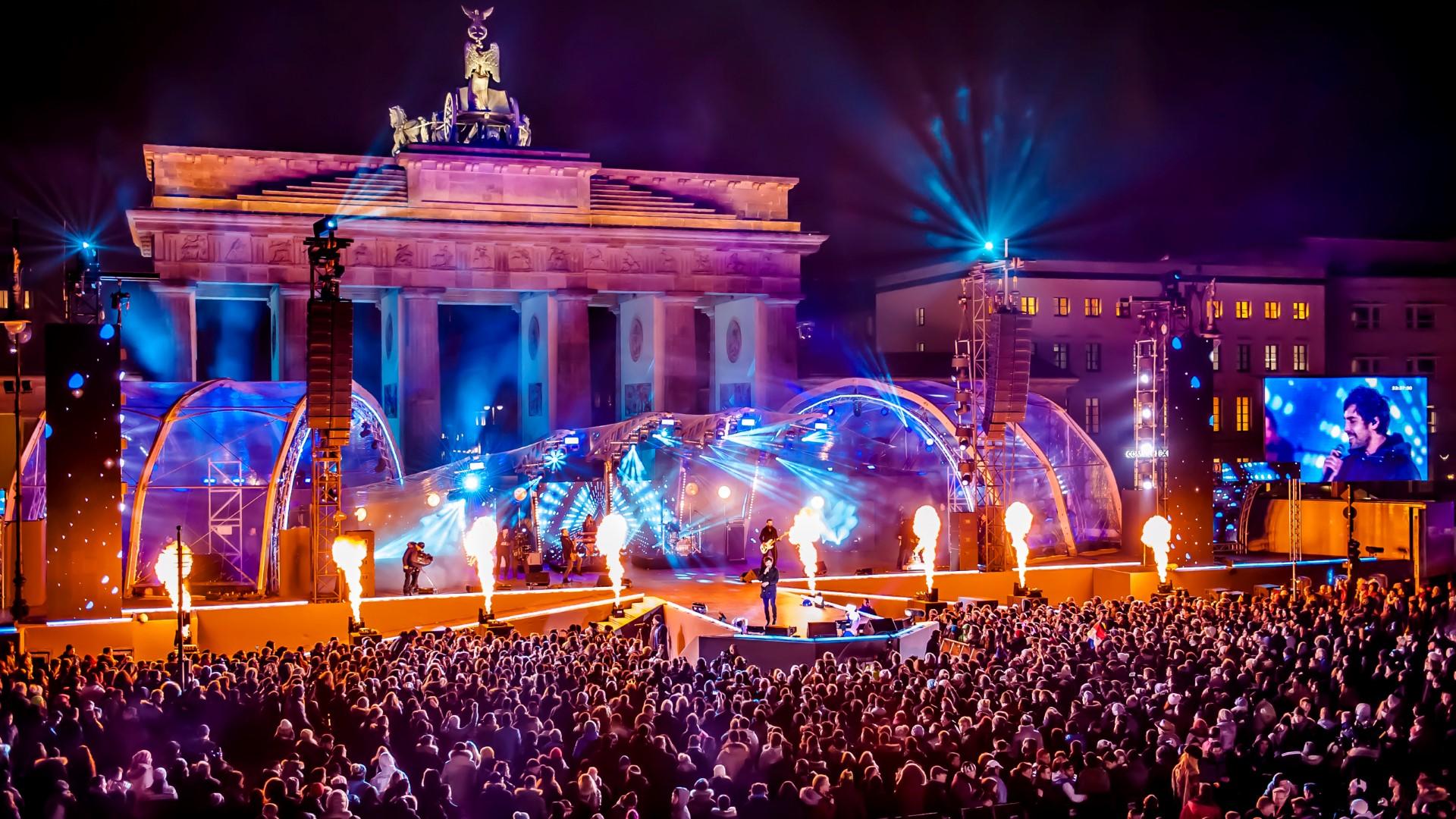 Die größte Silvesterparty Deutschlands am Brandenburger